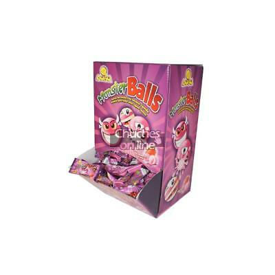 Chicle Monster Ball Fresa Estuche 200 Chicles