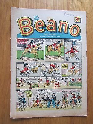 BEANO COMIC 2nd September 1967. Novel 50th Birthday Present!