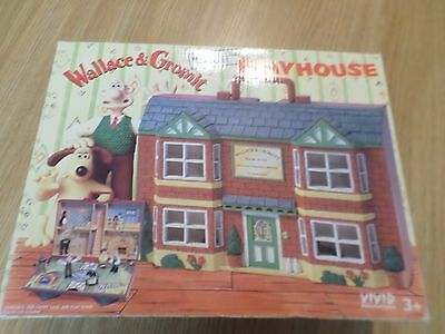 Wallace & Gromit West Wallaby Street Playhouse With Figures Free Uk Post