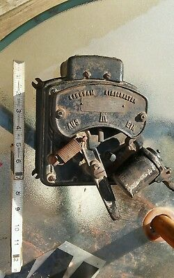 UNUSUAL Early 1900's German ANTIQUE RHEOSTAT Steampunk Movie Prop Frankenstein