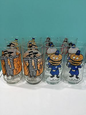 Vintage McDonald's Collector Series Glasses - MINT Condition