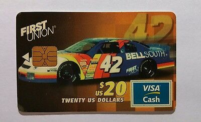 Rare Collectible First Union National Bank Visa Cash Card - 1 Of 5000 Issued