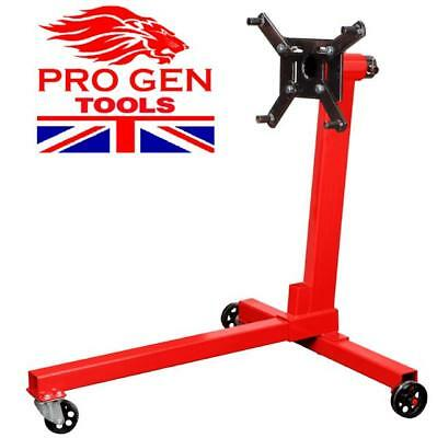 PROGEN HEAVY DUTY SWIVEL TRANSMISSION GEARBOX ENGINE SUPPORT STAND 750 lbs 350kg
