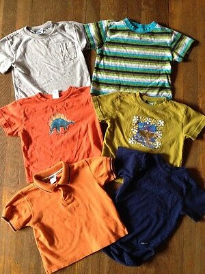 Lot Of Baby Boys Size 18-24 Months Old Navy Tee Shirts Great Condition!