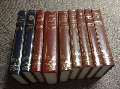 Collection of 9  Novels old books The leisure circle library collection1960-1980