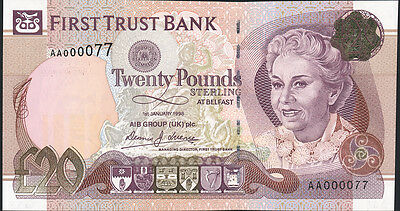 Nordirland / Northern Ireland, First Trust Bank 20 Pounds 1998 Pick 137a (1)