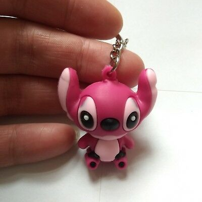 New Stitch  Rubber Keyring Keychain bags Pendant