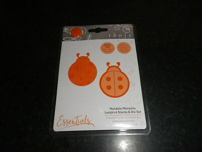 "Tonic Studios ""Ladybird"" Mandala Moments stamp &  die set"