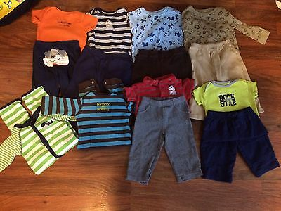 Infant Boy 6 9 Month Clothes Lot Carter's