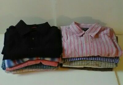 Wholesale Lot of 11 Assorted Mens Shirts New & Used CLEARANCE Ralph Lauren LRG