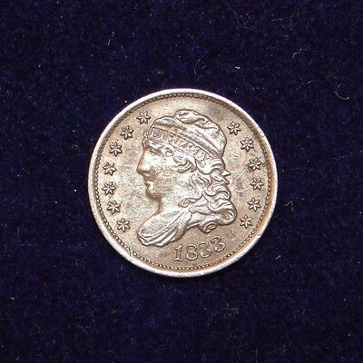 1835 Capped Bust Half Dime Rare Old U.s. Type Coin Problem Free