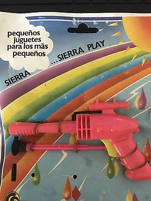 Space Gun With Dirt Made In Spain And Original Card