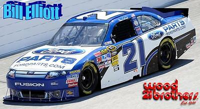 CD_1077 #21 Bill Elliott   Wood Brothers Ford   1:24 Scale Decals