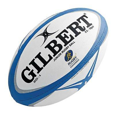 NEW Gilbert Zenon Pathways Midi Rugby Union Ball   from Rebel Sport