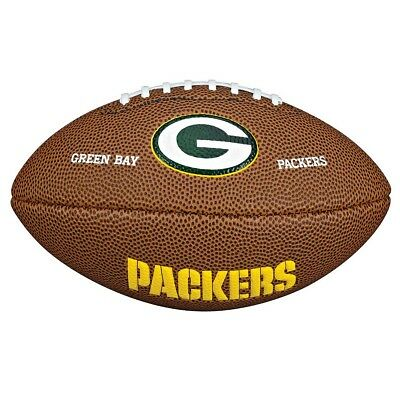NEW Wilson NFL Mini Green Bay Packers Supporter Ball   from Rebel Sport