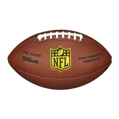 NEW Wilson NFL Duke Replica Football   from Rebel Sport