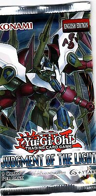 YU-GI-OH TCG Judgement of the Light PACK ENG EDITION NEW SEALED