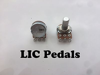 "1- Alpha  B100k pot  Linear taper small 16mm potentiometer 1/4"" shaft"