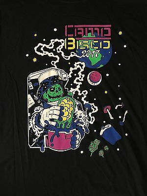 Camp Bisco 2017 Tshirt (small through ex large)