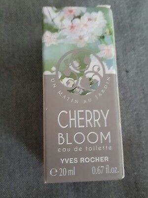 Yves Rocher Cherry Bloom Eue de toilette 20  ml  NEU
