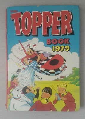 Topper Annual 1979 - topper book 1979