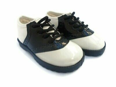Pitter Patter PATENT or REGULAR SADDLE SHOES Infant Toddler Sizes 1-10
