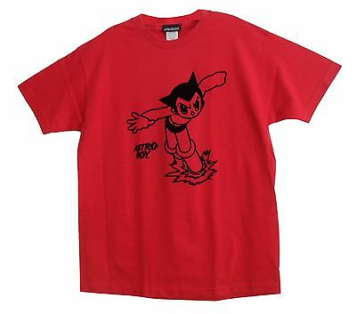 Anime Astro Boy T- Shirt Men's X-Large Red NEW