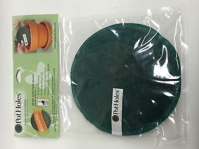 NEW, Reusable Pot Holes Drainage Discs (1)8.5""