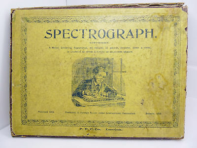SPECTROGRAPH ANTIQUE CAMERA OBSCURA DRAWING APPARATUS P.R.C. Co London C: 1910