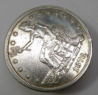 1878-S Silver TRADE DOLLAR $1 US Coin Item #13646