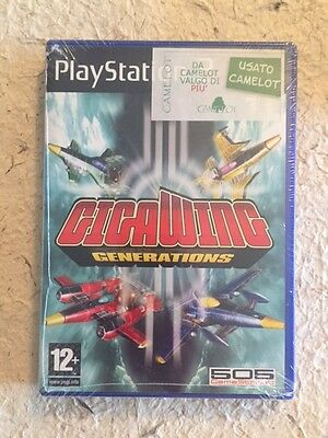 Gigawing Generations Playstation 2 Ps2 Pal Come Nuovo
