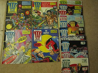 2000AD monthly oct1988 - sept1989 30 - 48 some issues missing