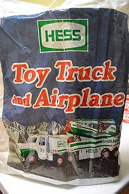 2002 Hess Toy Truck and Airplane - Mint in Box