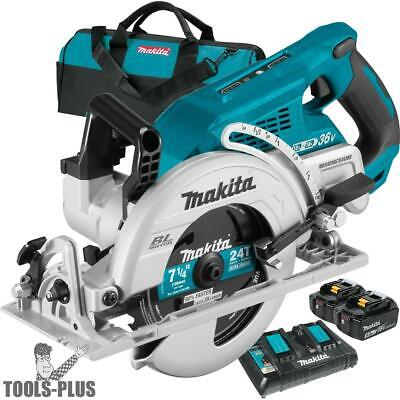 Makita XSR01PT 18Vx2 LXT 36V Brushless Rear Handle 7-1/4 Circular Saw 2x 5.0 New
