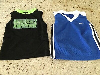 Baby Boy Shirts Size 3T Set Of Two