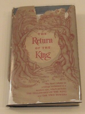 1956 J.R.R. Tolkien The Return of the King Lord of the Rings US 1st ed hc/dj