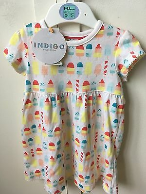 Baby girls summer dress Marks and Spencer 9-12 months BNWT
