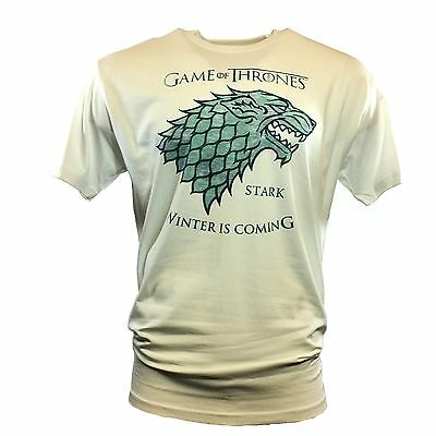 Wholesale Lots-6 Pcs Men's T-shirt -GAME OF THRONES -House of STARK-Size Large .