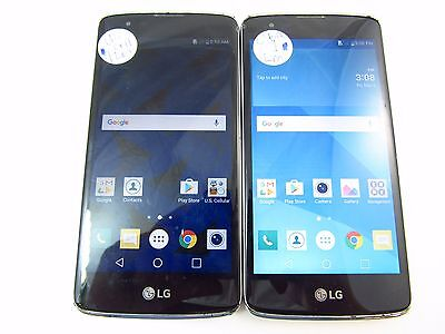 Lot of 2 Assorted LG Cracked Phones (US755 - AS375) (Mixed Carriers) (Check ESN)