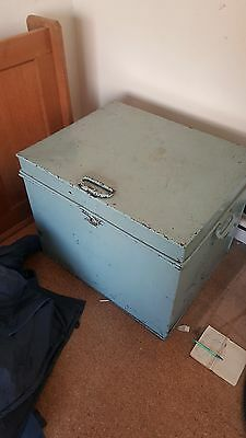 Milners Liverpool Antique Rare Victorian Safe Lock Box Chest Storage Fireproof