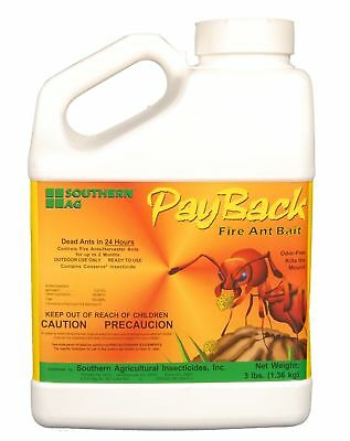 Southern Ag Payback Fire Ant Bait, 3 Pound Jug