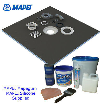 Wet Room Wetroom Shower Tray Kits Various Sizes in this listing (PRO Mapei)