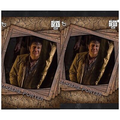 2x TRAPPED MARATHON EUGENE PORTER The Walking Dead Card Trader Digital