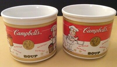 Campbell's Kids 2001 Ceramic Soup Mug 1910-1990 Timeline-2 in this Set