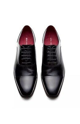Bolvaint Verrocchio Men's Dress Shoe Black Calfskin Size 12 $1,150 - NEW