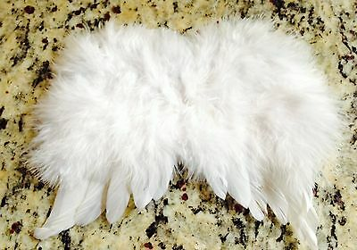 Angel Wing Mini Adorable White Real Feather Angel Wings 6X7 - *1 Each*
