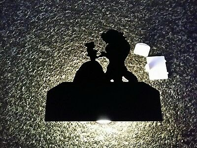 Disney Store Japan Wall Light Beauty and the Beast silhouette