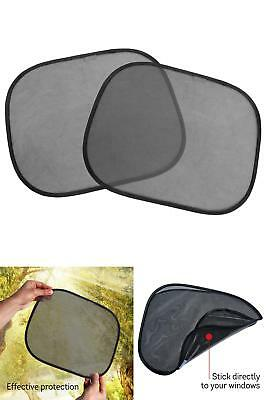 Car Sun Shade 2 Pack Covers Auto Side Window Shades Static Cling Pvc Baby Kids P
