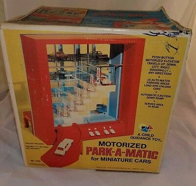 Motorized Park-A-Matic for Miniature Cars