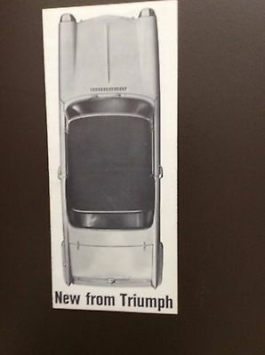 1964 Triumph 1200 Sales Brochure